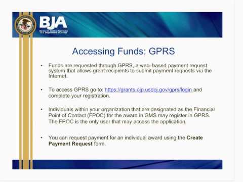 Orientation And Grant Management Webinar For 2012 Second Chance Act Grantees