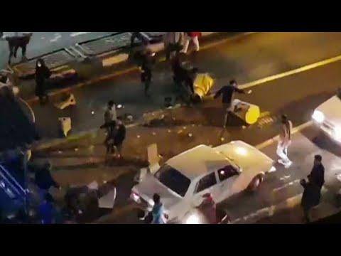 Iran: neuf morts dans une nouvelle nuit de manifestations