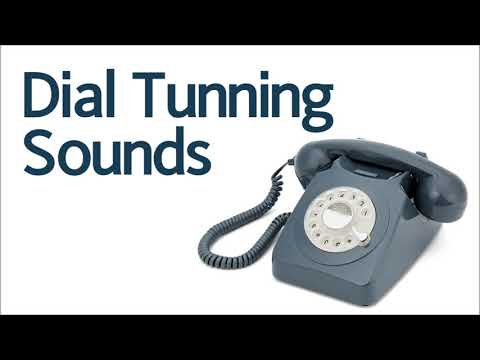 Rotary Phone Dialing Sound Effect, Dial Tunning Sounds, White Noise, ASMR, 다이얼 전화기