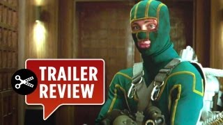 Instant Trailer Review - Kick-Ass 2 TRAILER (2013) - Aaron Taylor-Johnson Movie HD