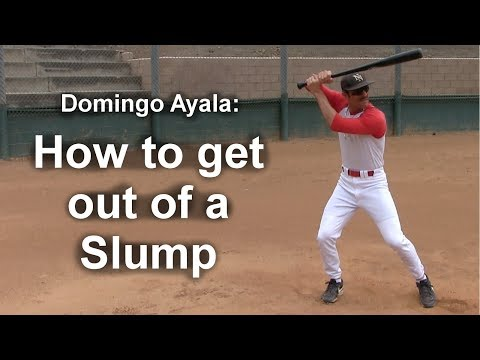 How To Get Out Of A Slump With Domingo Ayala