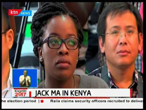 Alibaba CEO Jack Ma holds talks in Kenya on the potential of online marketing and business