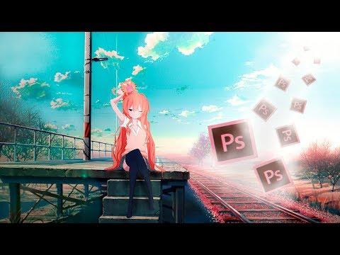 Переносим аниме в реальную жизнь через фотошоп - освещение