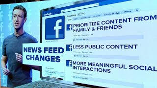 Facebook announces overhaul to prioritize content from friends and family