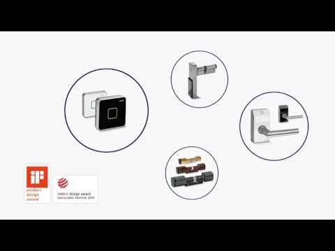 KABA evolo- access control which suits you - YouTube