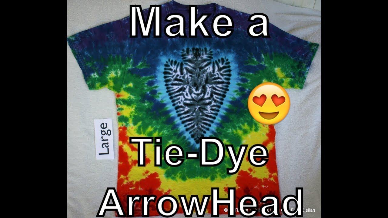 Arrow tye dye