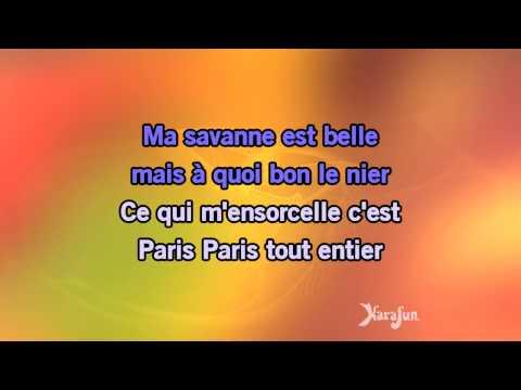 Karaoké J'ai deux amours - Lisa Angell *