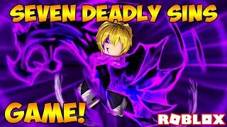 NEW SEVEN DEADLY SINS GAME ON ROBLOX! (Fighting Gilthunder) | Deadly Sins Retribution