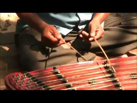Khmer Traditional Music (Cambodian Folk Traditional Instruments) Angkor, Siem Reap, Cambodia