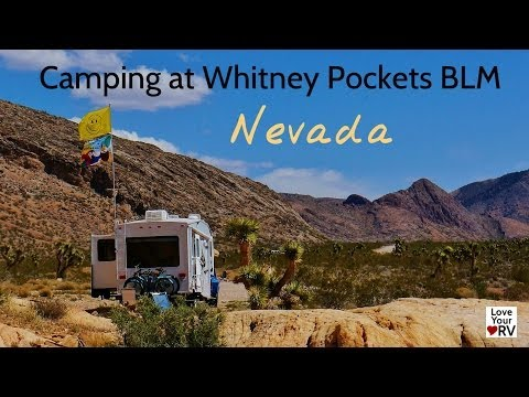Camping at Whitney Pockets BLM in Nevada
