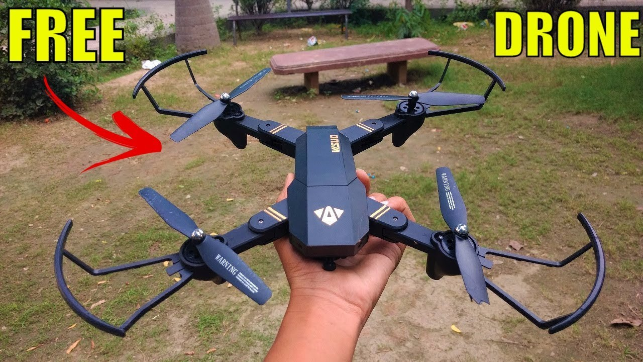 Best Free Rc Drone For Unboxing Under 50 Visuo XS809HW HD Camera First Flight