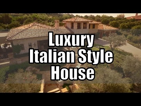 Luxury Italian Style House Design (Beautiful Pictures)