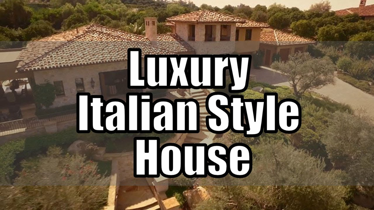Luxury Italian Style House Design Beautiful Pictures
