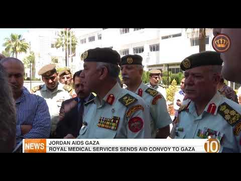 English News at Ten on Jordan Television 16-05-2018