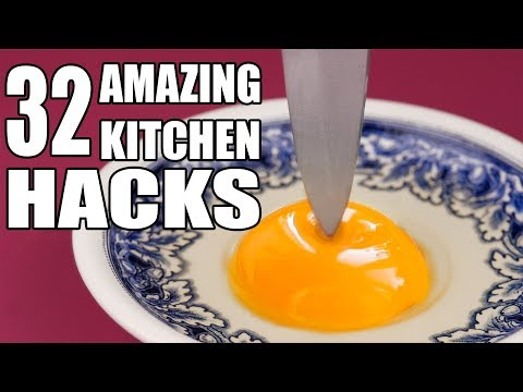 32 Kitchen Inventions and Life Hacks