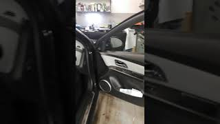 ШВИ плюс замена штатной акустики на Chevrolet Cruze