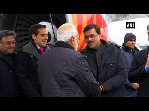 World Economic Forum 2018: PM Modi arrives in Zurich