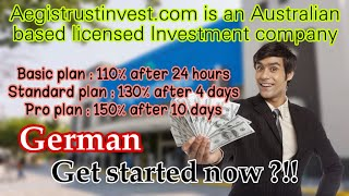 Great Cryptocurrency Investment Company with 3 Profitable Business Plans |  German version