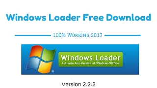 windows loader v2 2.2 free download 2017