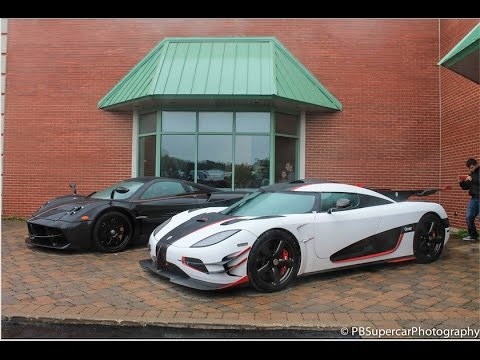 Lake Forest Sports Cars >> The Only America S Koenigsegg One 1 Appears In Chicago Lake Forest Sports Cars