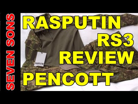 REVIEW: Rasputin Item RS3 Combat Shirt and Combat Pants Pencott Greenzone