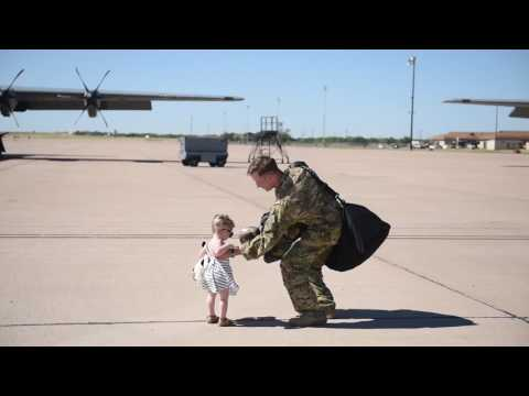 60 Seconds or Less: 39th Airlift Squadron Redeployment