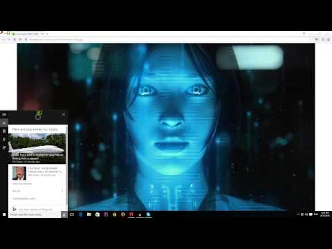 Как в Windows 10 включить Кортану