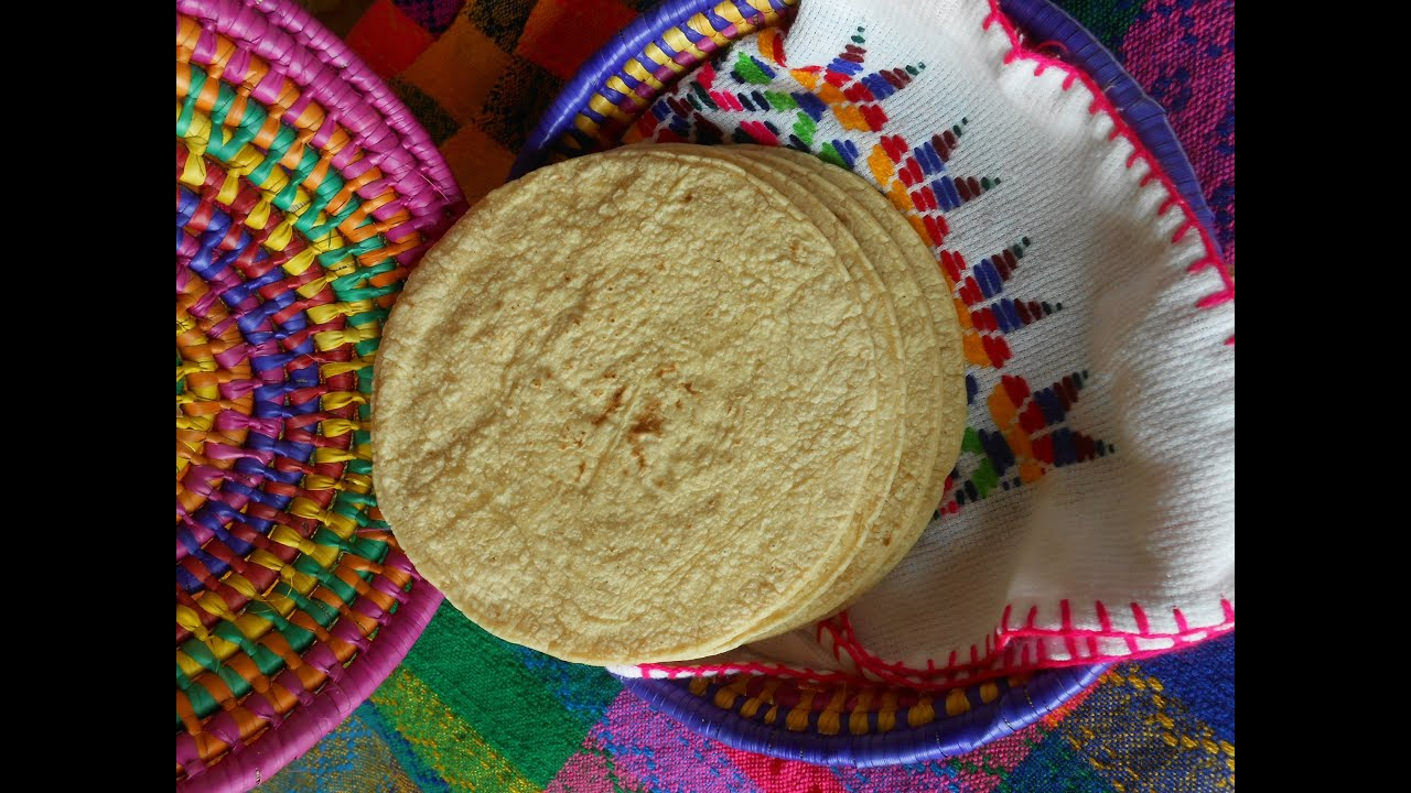 How to Make Corn Tortillas - YouTube
