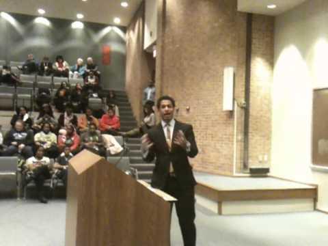 Toure At St. Louis University (Full Video)