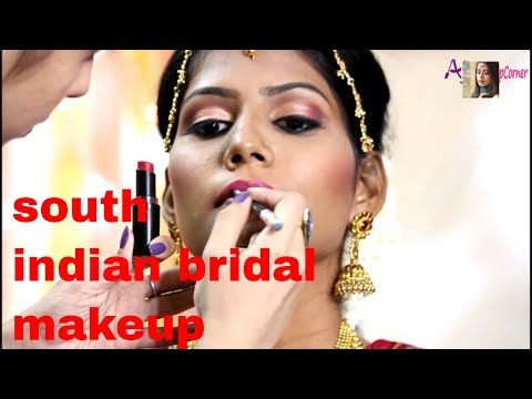 SOUTH INDIAN BRIDAL MAKEUP | MUHURTHAM LOOK FOR INDIAN SKINTONE | TAMIL BRIDE | MAKEUP ARTIST