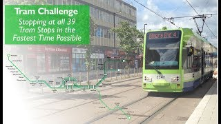 All 39 Tram Stops in the Fastest Time Possible
