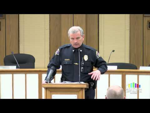 Janesville Police Department Awards Night 2014