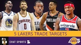 Lakers Trade Rumors: 5 Players LA Could Trade For During the 2019-20 NBA Season Including Kevin Love
