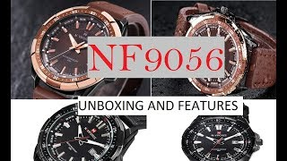 Naviforce NF9056 Unboxing Naviforce Watch Unbox By BOBBY TEC Hindi