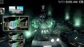 Final Fantasy VII - PSP Disc 1 EBoot