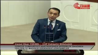 Eskişehir Milletvekili Cemal Okan Yüksel - 12. Madde Görüşmeleri - 14/01/2017