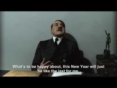 Hitler is wished a Happy New Year 2010