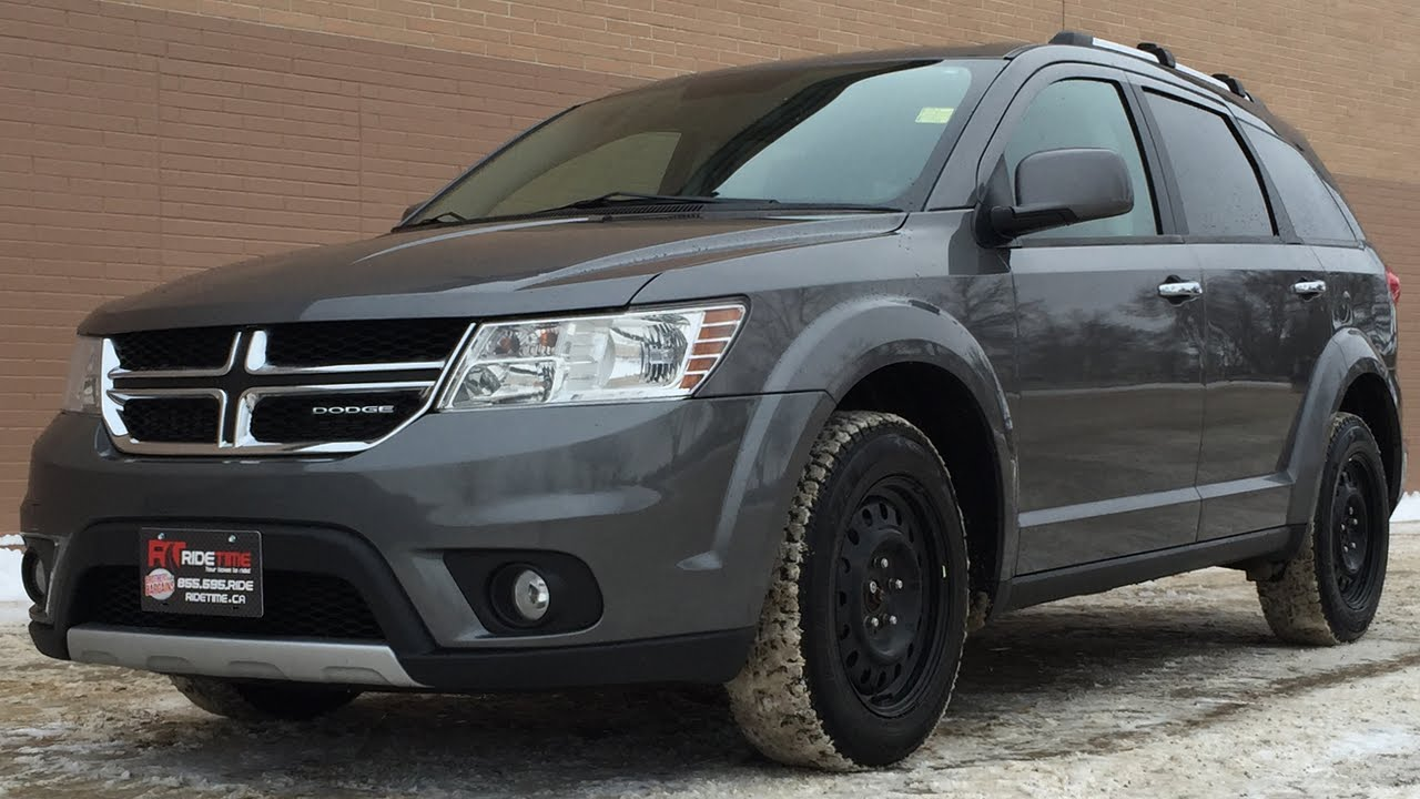 2012 Dodge Journey R/T AWD - Leather Heated Seats, 19in ...