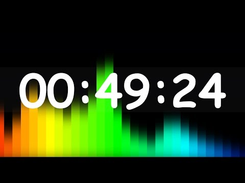 1 min timer countdown ( v 458 ) news theme clock with sound effects 4k