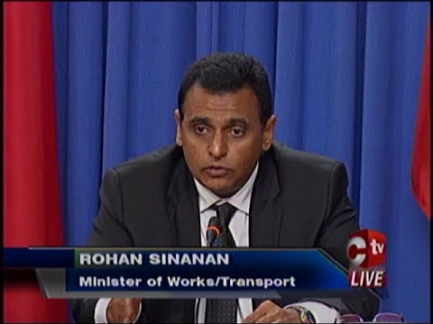 Sinanan Backs Port Authority On Seabridge Vessels