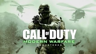 Repeat youtube video FIRST LOOK AT CALL OF DUTY MODERN WARFARE REMASTERED MULTIPLAYER