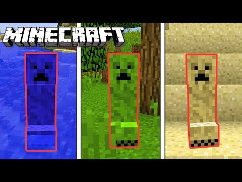 NOWE CREEPER'y W MINECRAFT!