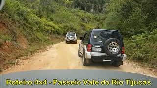Roteiro 4x4 - Passeio Vale do Rio Tijucas