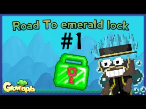 Growtopia | Road To Emerald Lock | #1