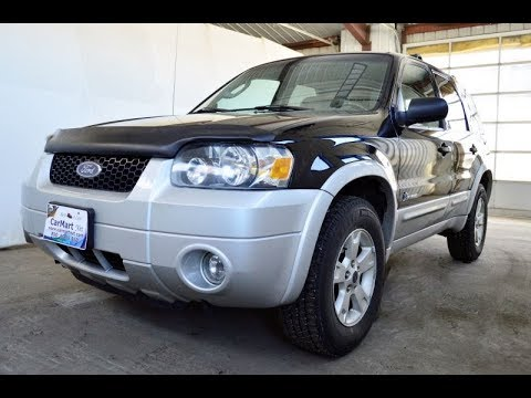 2006 Ford Escape Hybrid All Wheel Drive Suv Review By Carmart Net Fergus Falls