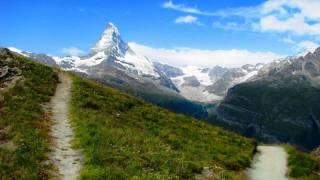 Trip around Alps Mont Blanc, Matterhorn