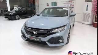 Honda Civic Turbo Vtec 2019 New Facellit Blue Review ( Mobil Balap )