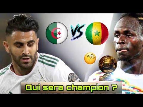 QUI REMPORTERA LA COUPE D'AFRIQUE? (ALGÉRIE-SÉNÉGAL) MON PRONOSTIC