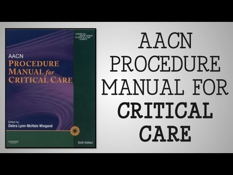 book review aacn procedure manual for critical care youtube rh youtube com Critical Care Nurses Cartoon Critical Care Nurses Cartoon