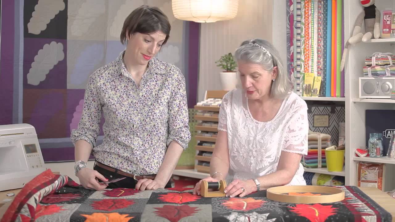 Hand Quilting With Marianne Fons Part 1 Youtube